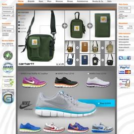 Web- & Grafikdesign, Produktfotografie – www.neverending-shop.de