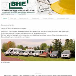 Webdesign – www.bhe-schubert.de