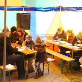 """Workshop bei der """"Meile der Demokratie"""" - Magdeburg"""