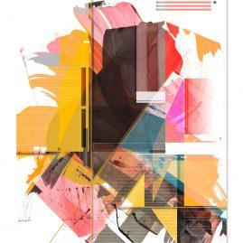 """""""Förmlichkeit IX"""" - Mixed Media Art - 2020"""