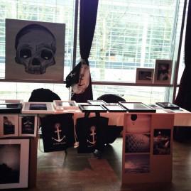 Ausstellung bei knopf.knopf.saite. im Projekt 7 - Magdeburg - 2013