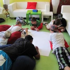 Workshop in der Sekundarschule Weitling - Magdeburg
