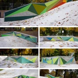 Skatepark Magdeburg – Parkour-Gestaltung - 2013