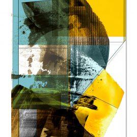 """""""Förmlichkeit VI"""" - Mixed Media Art - 2019"""