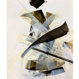 """""""Untitled"""" - Acryl / 60x50cm"""
