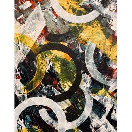 Untitled - Acryl / 126x80cm