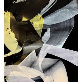 VerW.irklichkeit 3/4 - Acryl / 126x80cm