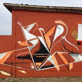 Soné - Werk4 - Graffiti - Magdeburg 2018