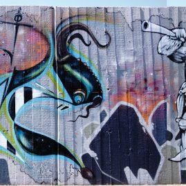 Soné & Nano - Magdeburg - Graffiti 2013