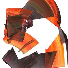 Verbundenheitsdinge - Acryl on paper - 85x60cm - 2018