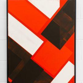 Reduction - Acryl - 100x80cm - 2018 Ackermann Magdeburg Kunst Malerei