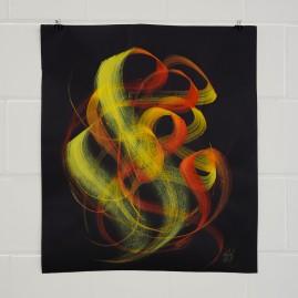 Acryl auf Tonzeichenpapier / 70x80 cm