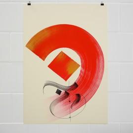 Minimal ist Poesie Pt. 2  – Acryl auf finn. Holzpapier / 100x70 cm