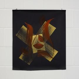Acryl auf Tonzeichenpapier / 70x70 cm