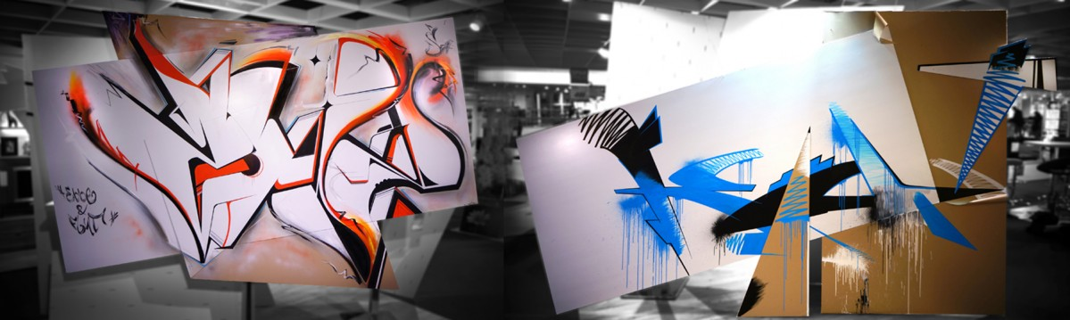 kunst graffiti kalligraphie fassadengestaltung art malerei. Black Bedroom Furniture Sets. Home Design Ideas