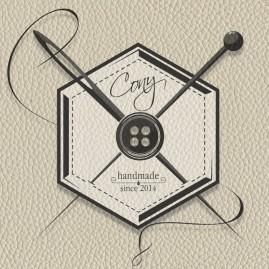 """Logogestaltung für """"Cony"""" – individuelle & handgemachte Accessoires"""