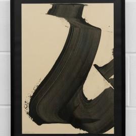 """""""Der Schwung"""" - Acryl (72x52cm) im Glasrahmen"""