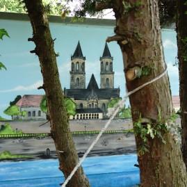 Fassadengestaltung - Dom zu Magdeburg - 2014