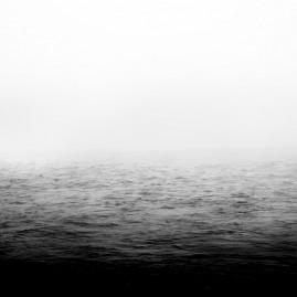 Elbe im Nebel - Magdeburg