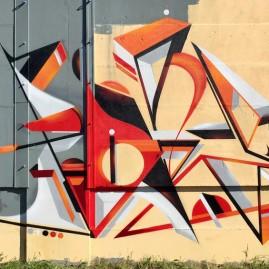 Soné - Werk4 - Magdeburg - Graffiti 2018