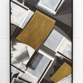 """Il Tempo se ne va"" - Linolfarbe und Acryl - 100x70 cm – 2017"