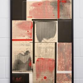 O A.lquimista – Beyond Words / abstract calligraphy. Acryl auf finn. Holzpapier - 100x70 cm