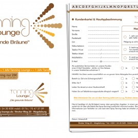Corporate Design - Tanning Lounge – www.tanning-lounge.net