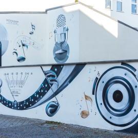 Fassadengestaltung - Dickmann / TV + Hifi Studio - Magdeburg - 2015