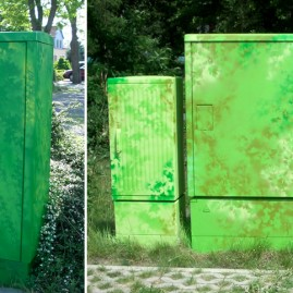 Farbgestaltung - Steuerschränke – Landeshauptstadt Magdeburg