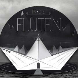 Illustration - Faltschiff – In die Fluten