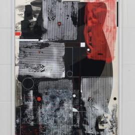 Blackbox Pt. 2– Beyond Words / Acryl auf finn. Holzpapier - 100x70 cm