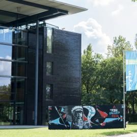 Herbstsalon'15 - Cross Media Ausstellung / Kunst aus Nashville & Sachsen-Anhalt. MDR Funkhaus / Poke & Soné