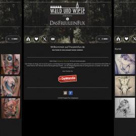 Webdesign – Das Freulein Fux / http://freuleinfux.de/