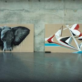 """""""Graffiti ist Jazz mit Buchstaben"""" (Publikation) – Buchpräsentation & Vernissage - Parkz & Soné - MDR Funkhaus"""