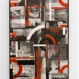 """Junctions"" Acryl - 100x70 cm – 2017"