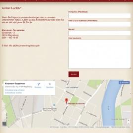 Webdesign –  Kietzmann Occasionen / www.kietzmann-magdeburg.de/