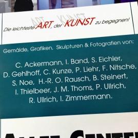 """Allee Center Art"" Ausstellung - Magdeburg 2018"