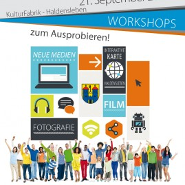 MedienWerkstatt - Workshop - Haldensleben