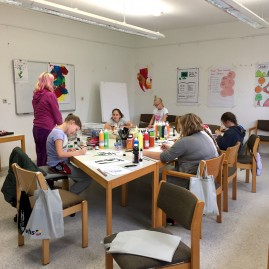 Talente.Campus - Kreativworkshop - Wanzleben