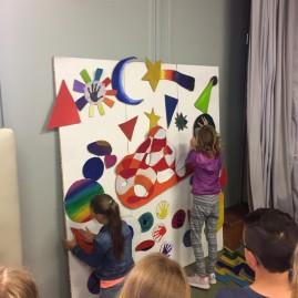 """""""Farben-Spiel"""" - Kreativworkshop - Jugendkunstschule Magdeburg"""