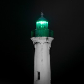 Leuchtturm - Saint-Valery-en-caux - Normandie - Frankreich