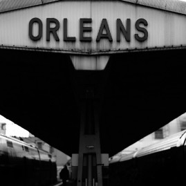 Orleans - Bahnhof - Frankreich