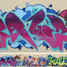 Soné, Peka, Wens, Kult & Nano - Werk4 - Magdeburg - 2012