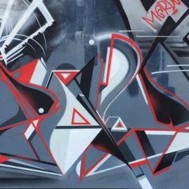 Soné - Buckau - Magdeburg - Graffiti 2016