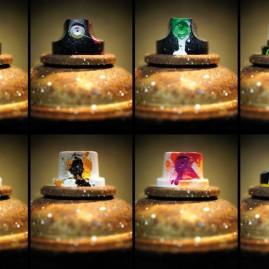 Rusty Spraycan - 8er Collage