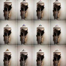 Rusty Spraycan - 12er Collage