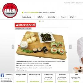 Webdesign – www.sushifreunde.de