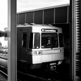 U1 - Metro - Wien - Österreich
