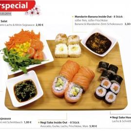 Grafikdesign & Produktfotografie – Sushifreunde