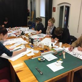 Kalligraphie Workshop - Moritzhof / Magdeburg